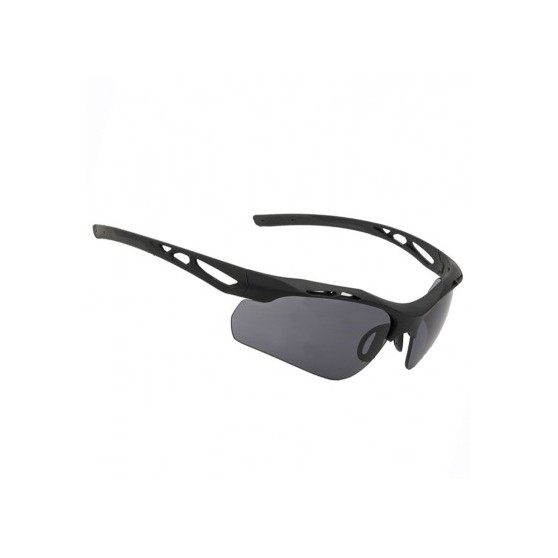 SwissEye Attac glasses set (black frame)