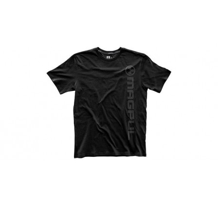 Fine Cotton Vert Logo T-Shirt, black