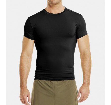 UnderArmour Tactical HeatGear Compression t-särk, must